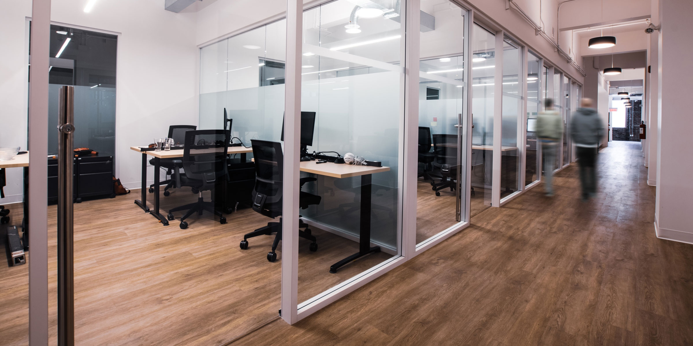Starwall offices creating individual workspaces